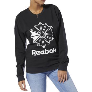 Textiel Dames Sweaters / Sweatshirts Reebok Sport  Zwart