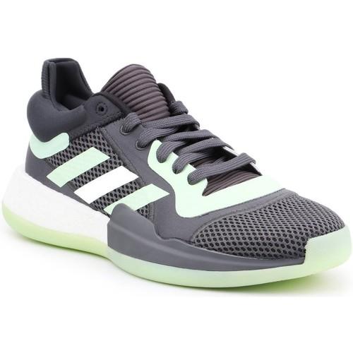 Schoenen Heren Basketbal adidas Originals Adidas Marquee Boost Low G26214 grey, green