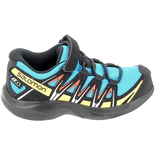 Schoenen Lage sneakers Salomon Xa Pro 3D CSWP C Bleu Noir Blauw