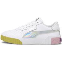 Schoenen Meisjes Lage sneakers Puma Cali bubbles Wit