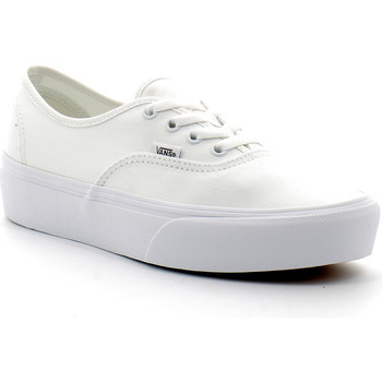 Schoenen Dames Lage sneakers Vans Authentic Platform 2.0 Blanc