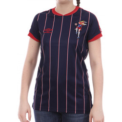 Textiel Dames T-shirts korte mouwen Umbro  Blauw