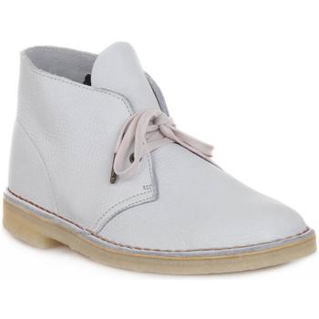 Schoenen Laarzen Clarks DESERT BOOT M WHITE Bianco