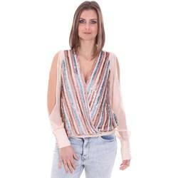Textiel Dames Tops / Blousjes Nenette 26BB-FLORIANA Roze