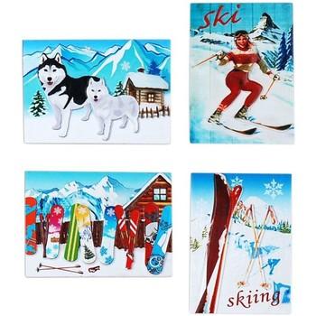Wonen Kerst decoraties Signes Grimalt Sneeuw Magnetische September 4 U Multicolor