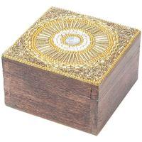 Wonen Trunks, opbergdozen Signes Grimalt Plein Jewelry Box Dorado
