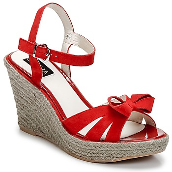 Schoenen Dames Sandalen / Open schoenen C.Petula SUMMER Rood