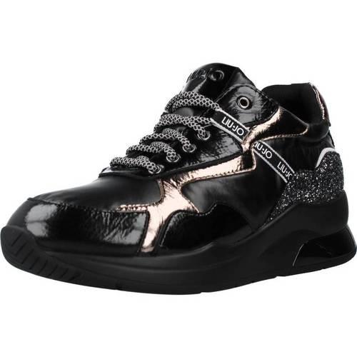 Schoenen Dames Lage sneakers Liu Jo KARLIE 35 Zwart