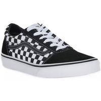 Schoenen Jongens Sneakers Vans PVJ Y ATWWOD CHECHERED Nero