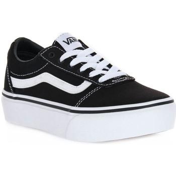 Schoenen Meisjes Sneakers Vans 187 WARD PLATFORM Nero
