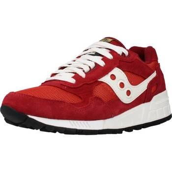 Schoenen Dames Lage sneakers Saucony SHADOW 5000 Rood