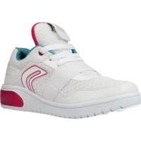 Schoenen Meisjes Lage sneakers Geox J XLED GIRL Wit