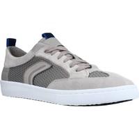 Schoenen Heren Lage sneakers Geox U WARLEY Grijs