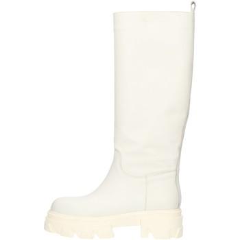 Schoenen Dames Hoge laarzen Made In Italia CAPITAL01 White