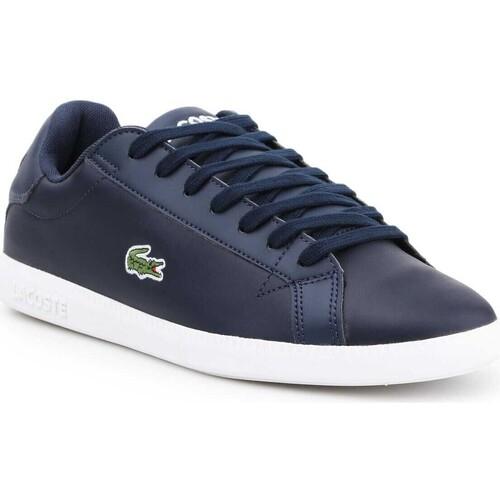 Schoenen Heren Lage sneakers Lacoste 7-37SMA0053092 navy