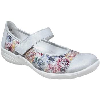 Schoenen Dames Ballerina's Remonte Dorndorf R7627 Meerkleurig grijs