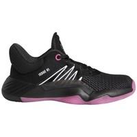 Schoenen Jongens Basketbal adidas Originals  Zwart