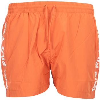 Textiel Heren Zwembroeken/ Zwemshorts Fila Sho Swim Shorts Oranje