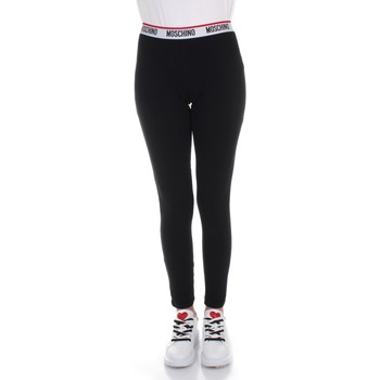 Textiel Dames Leggings Moschino A 4327 9003 Black