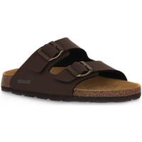 Schoenen Heren Leren slippers Grunland MOGANO 40BOBO Marrone