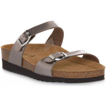 Schoenen Dames Leren slippers Grunland BRONZO 11HOLA Marrone
