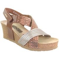 Schoenen Dames Sandalen / Open schoenen Mephisto Leonia Meerkleurig leer bruin