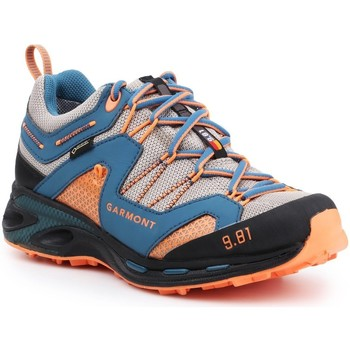 Schoenen Heren Wandelschoenen Garmont 9.81 Trail Pro III GTX 481221-211 blue, orange, grey