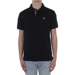 Textiel Heren Polo's korte mouwen Barbour MML0012 Black