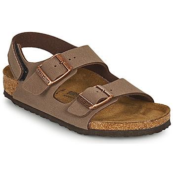 Schoenen Jongens Sandalen / Open schoenen Birkenstock MILANO HL Bruin