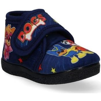Schoenen Jongens Babyslofjes Luna Collection 53392 blauw