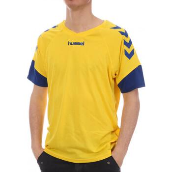 Textiel Dames T-shirts korte mouwen Hummel  Blauw