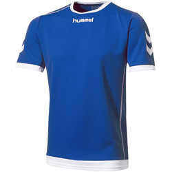 Textiel Heren T-shirts korte mouwen Hummel  Blauw