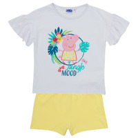 Textiel Meisjes Setjes TEAM HEROES  PEPPA PIG SET Multicolour
