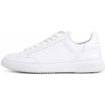 Schoenen Dames Lage sneakers Garment Project women white leather/suede 2002 GPW1994-100 Wit