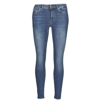 Textiel Dames Skinny jeans Only ONLBLUSH Blauw / Donker