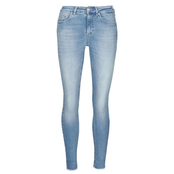 Textiel Dames Skinny jeans Only ONLBLUSH Blauw / Clair