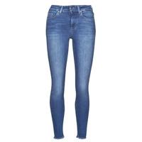 Textiel Dames Skinny jeans Only ONLBLUSH Blauw / Medium