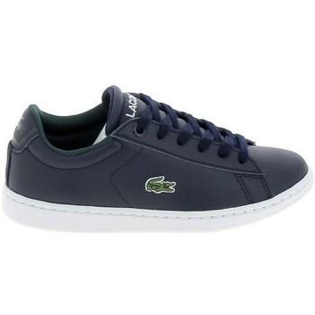 Schoenen Heren Lage sneakers Lacoste Carnaby C Marine Blanc Blauw