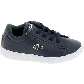 Schoenen Lage sneakers Lacoste Carnaby BB Marine Blanc Blauw