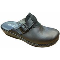 Schoenen Dames Leren slippers Florance FLC23060gr grigio