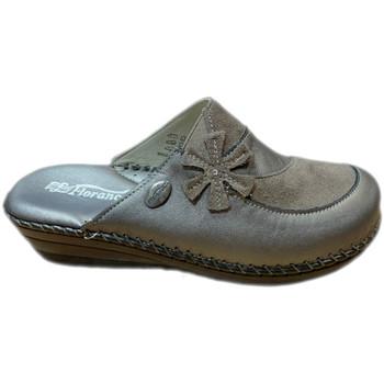 Schoenen Dames Leren slippers Florance FLC23054tor tortora