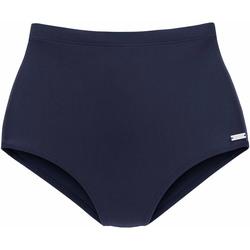 Textiel Dames Bikinibroekjes- en tops Lascana Heidi  Afslank Bikini Brief Blauw Marine