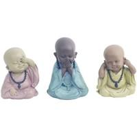 Wonen Beeldjes  Signes Grimalt 3 Verschillende Boeddha In September 3U Multicolor