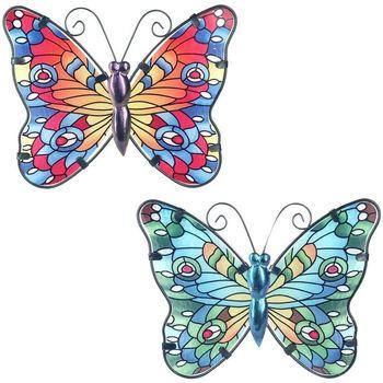 Wonen Beeldjes  Signes Grimalt Vlinder 2 Kleine U Multicolor