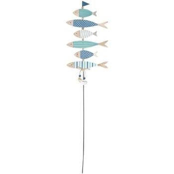 Wonen Feestelijke decoraties Signes Grimalt Adorno Palo Fish Multicolor