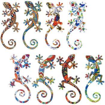 Wonen Beeldjes  Signes Grimalt Lagartos S 8 Verschillende 8U Multicolor