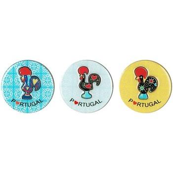 Wonen Beeldjes  Signes Grimalt Magnetische Hanen 3U Multicolor