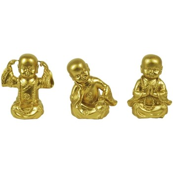 Wonen Beeldjes  Signes Grimalt Buddhas Dorados 3U Assortimenten Dorado