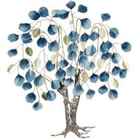 Wonen Schilderijen Signes Grimalt Boom Met Gevallen Bladeren Azul