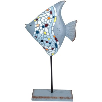 Wonen Beeldjes  Signes Grimalt Fish Trencadís Azul
